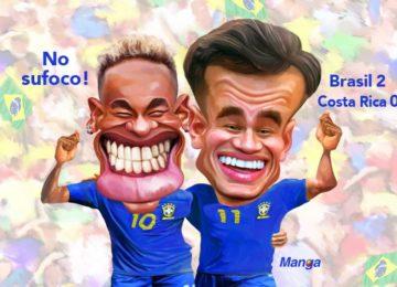 Manga:Clique e veja a charge de Neymar e Coutinho