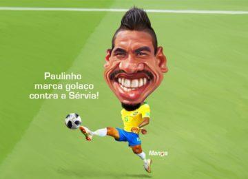 "Manga: Veja a charge animada do ""bailarino"" Paulinho"