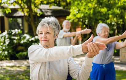 Fitness: Aulas em grupo para idosos