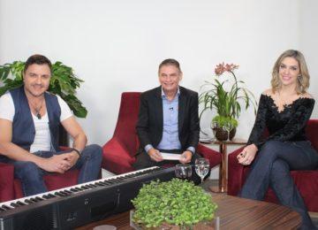 """""""Andreoli entre Amigos"""" com Mauricio Manieri e Janice Castro"""