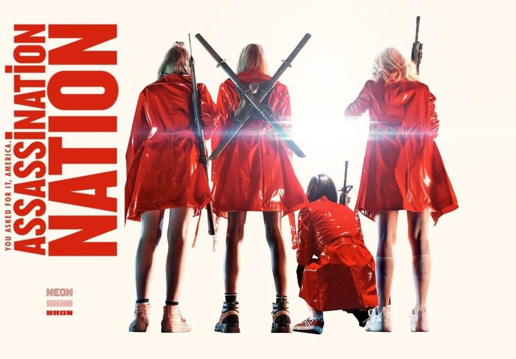 Resultado de imagem para assassination nation  poster
