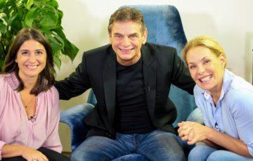 """""""Andreoli entre Amigos"""" com Carolina Ferraz e Carol Fiorentino"""