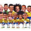 Manga: Clique e veja a charge da Seleção Brasileira