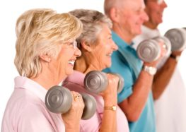 Fitness: Coloquem os idosos para treinar!