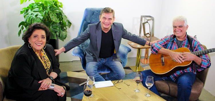 """""""Andreoli Entre Amigos"""" com Leda Nagle e Dudu França"""