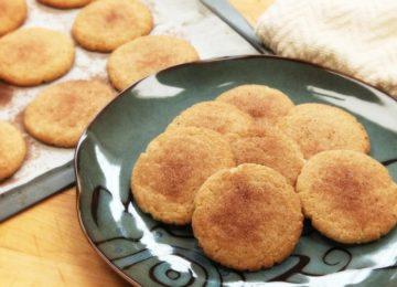 Priscilla Bisognin: Cookies macios de canela – Snickerdoodles