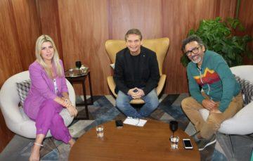 """""""Andreoli Entre Amigos"""" com Simoninha e Íris Stefanelli"""