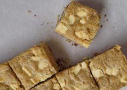Priscilla Bisognin: Receita de blondie (brownie branco)