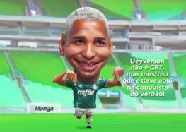 Manga: Deyverson, o herói do decacampeonato palmeirense