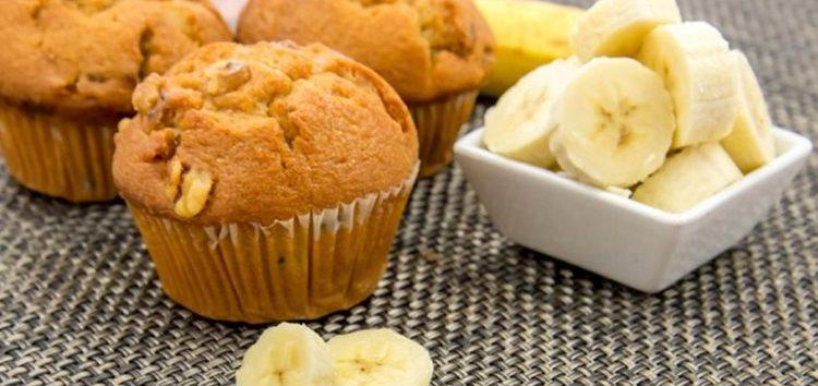 Priscilla Bisognin: Muffins de banana