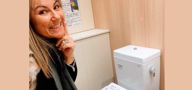 Márcia Sakumoto: Curiosidade High Tech até nos banheiros japoneses