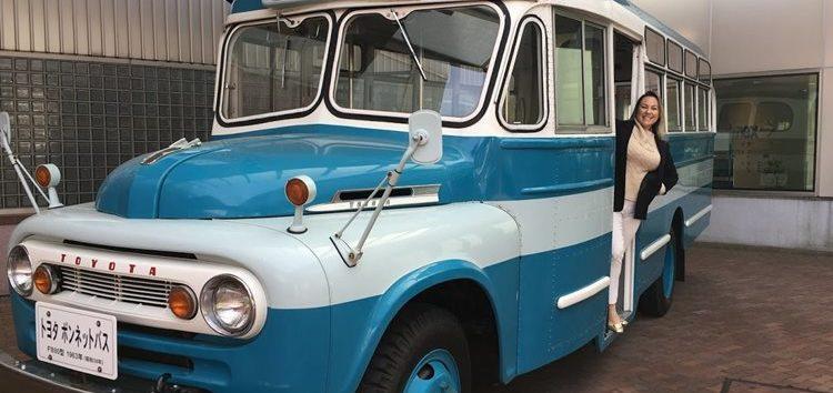 Márcia Sakumoto: Museu do automóvel no Japão