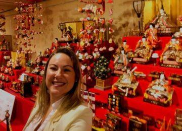 Márcia Sakumoto: Festival de bonecas no Japão