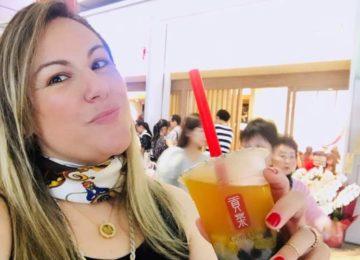 Márcia Sakumoto: Tapioca no chá conquista japoneses