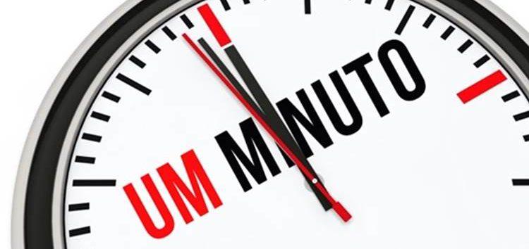 Lordello: Perder um minuto ou a vida num minuto?