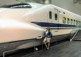 Márcia Sakumoto: Museu Ferroviário em Nagoya