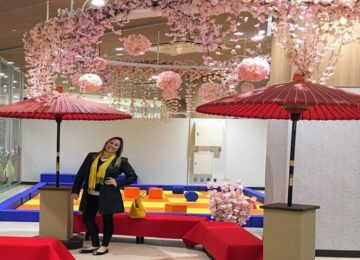 Márcia Sakumoto: Wagasa, a charmosa sombrinha japonesa