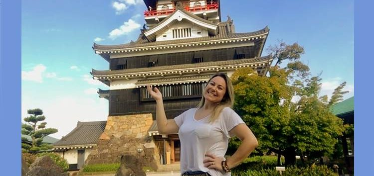 Márcia Sakumoto: O lindo Castelo de Kiyosu