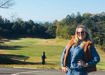 Márcia Sakumoto: Golfe no Japão