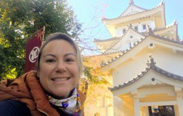 Márcia Sakumoto: Passeio ao Castelo de Ogaki