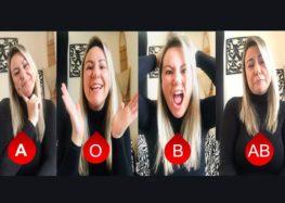 Márcia Sakumoto: Teoria da personalidade por tipo sanguíneo