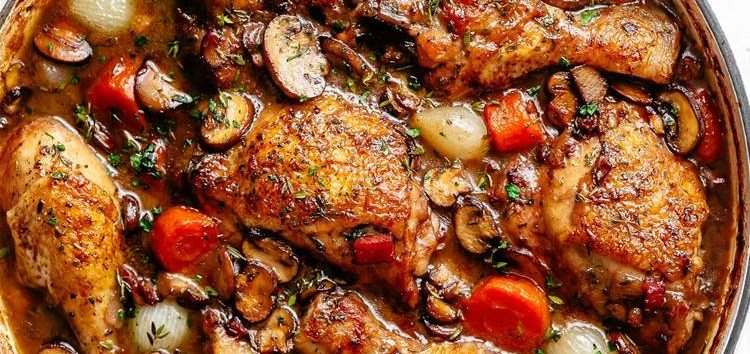 Iramaia Loiola-Coq Au Vin: frango com o Querido Vinho