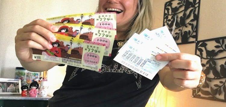 Márcia Sakumoto: Takarakuji, Loteria do Japão