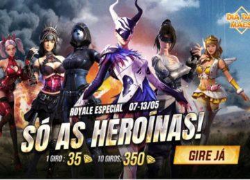 Arthur Gimenes: Dia das Mães nos games, Free Fire chega com evento e jaqueta especial.