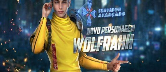 Arthur Gimenes: Conheça o novo personagem de Free Fire, Wolfahh