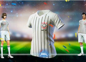 Arthur Gimenes: Free Fire lança roupagem com uniforme do Corinthians