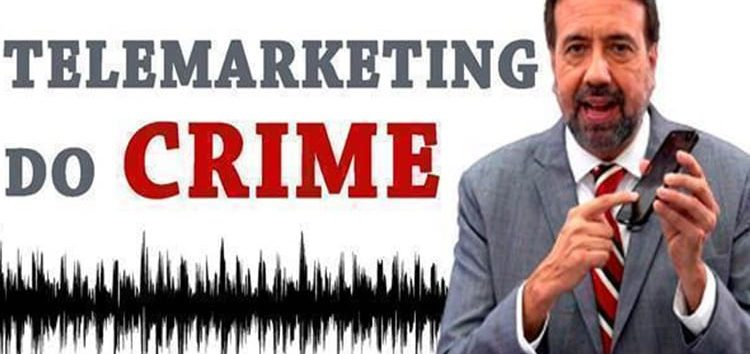 Jorge Lordello: Telemarketing do crime