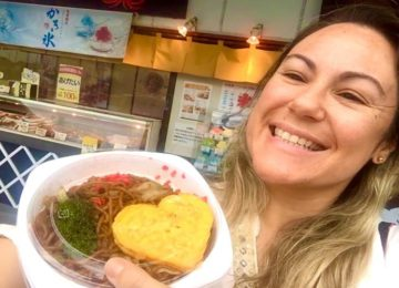 Márcia Sakumoto: Yakisoba no Japão diferente do Brasil