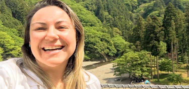 Márcia Sakumoto: Lazer refrescante no Japão