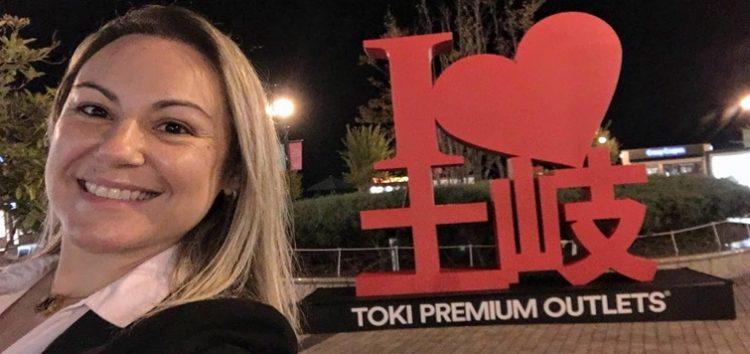Márcia Sakumoto: OUTLET no Japão.