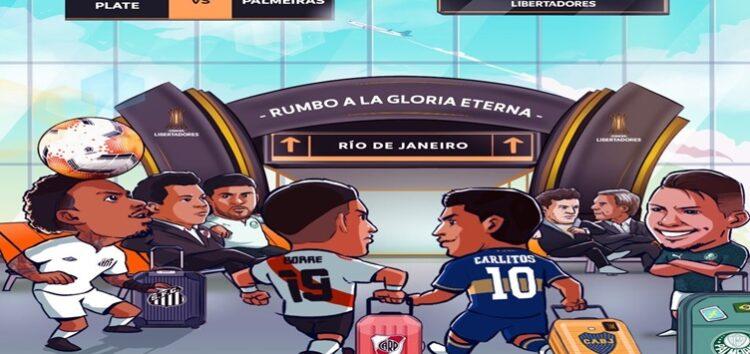 Paty Santos: A polêmica ilustração da Conmebol.