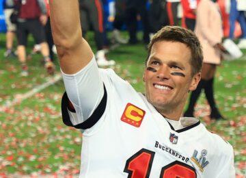 Paty Santos: Tom Brady, sempre ele.