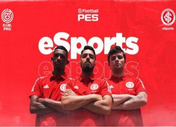 Arthur Gimenes: Internacional/RS estreia no eSports com trio para o PES 2021