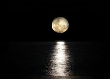 Ana Lessa: Mapa da Super Lua de Touro.